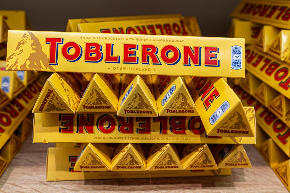 Personalised Toblerone The Tesco Branches Putting Names On