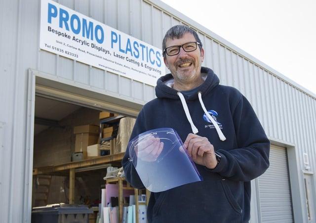 Tim Reader from Promo Plastics, Kelso.