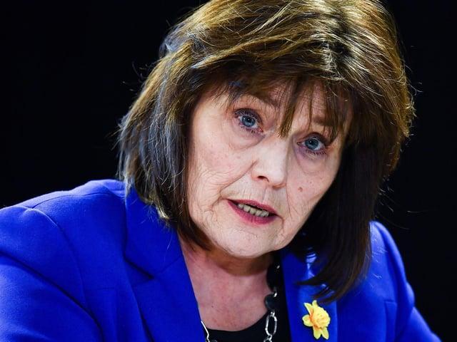 Scottish Government health secretary Jeane Freeman.