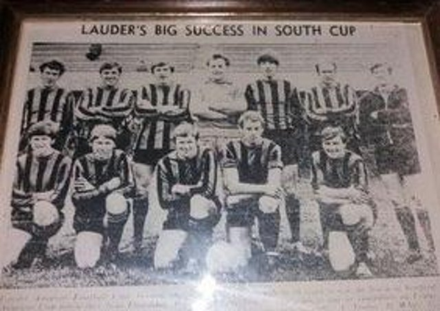 A snapshot of the winning 1970 team (from Bygone Lauder).