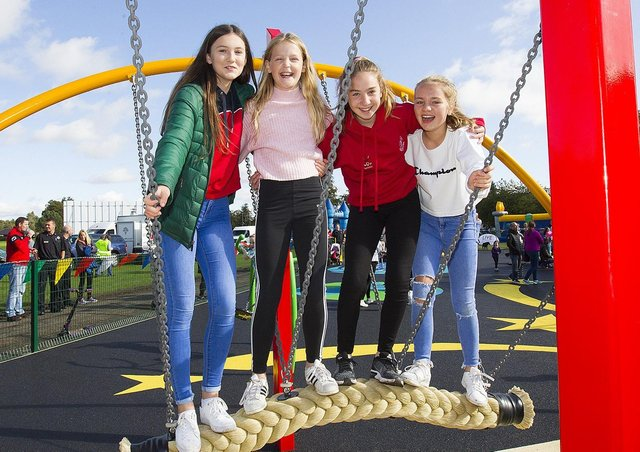 """So-called """"destination"""" play parks in the Borders, such as this one which opened in Kelso last year, will remain open."""
