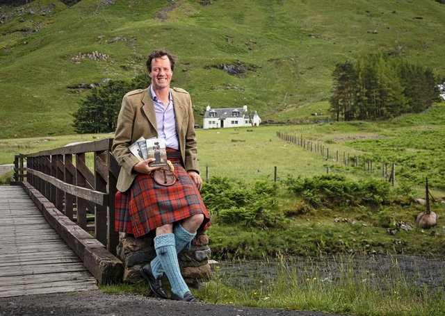 Angus MacDonald at home in the Highlands.