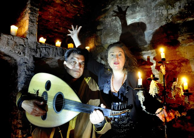 On the hunt...for spooky stories the length and breadth of the country for this year's Scottish International Storytelling Festival. (Pic: Colin Hattersley)