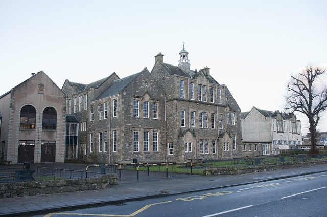 Hawick High School.