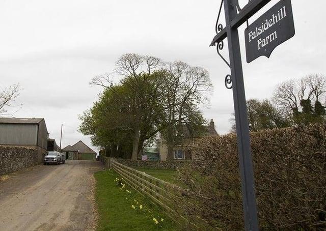 Falsidehill Farm in Kelso.