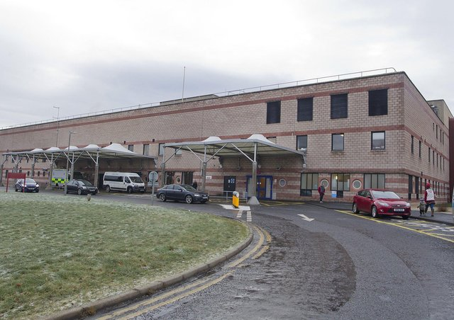 The Borders General Hospital at Melrose. Photograph: Bill McBurnie