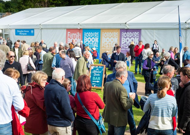It's hoped the Borders Book Festival can return to Harmony Garden this year. Photo: Alex Hewitt