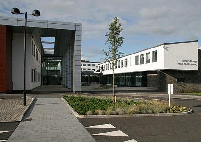 Heriot-Watt University's Borders Campus in Galashiels.