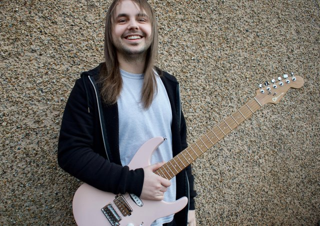 The chance to perform on guitar legend Joe Satriani's latest album project was a dream come true for Galashiels shredder Kieran Johnston.