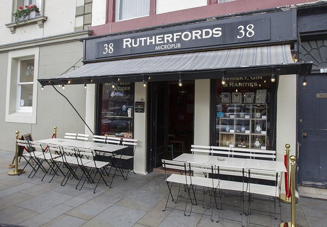 Rutherfords in Kelso. Photograph: Bill McBurnie