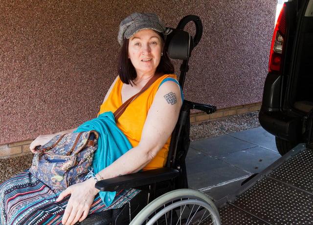 Sara Gammon from Tweedbank. (Photo: BILL McBURNIE)