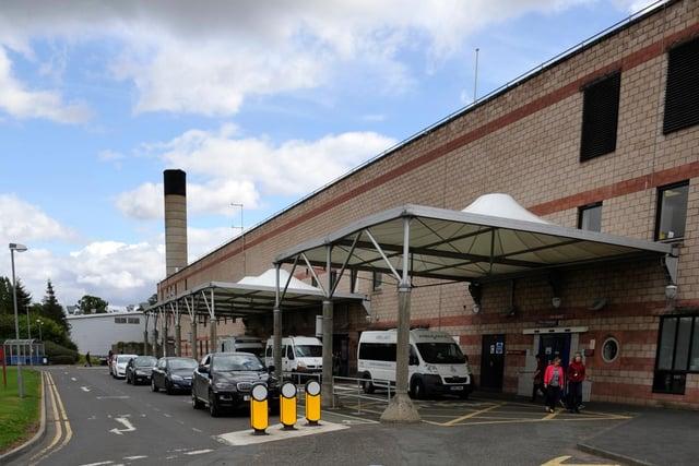 The Border General Hospital in Melrose.
