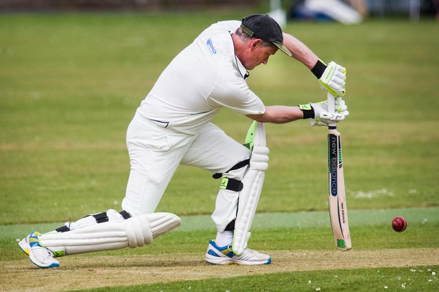 St Boswell's cricket captain, Jamie Glover (picture by Bill McBurnie)