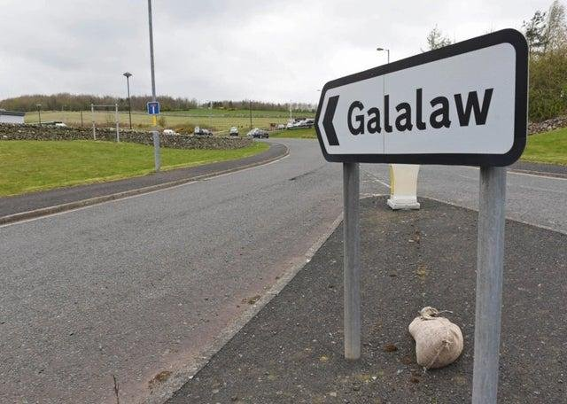 The road to Galalaw.