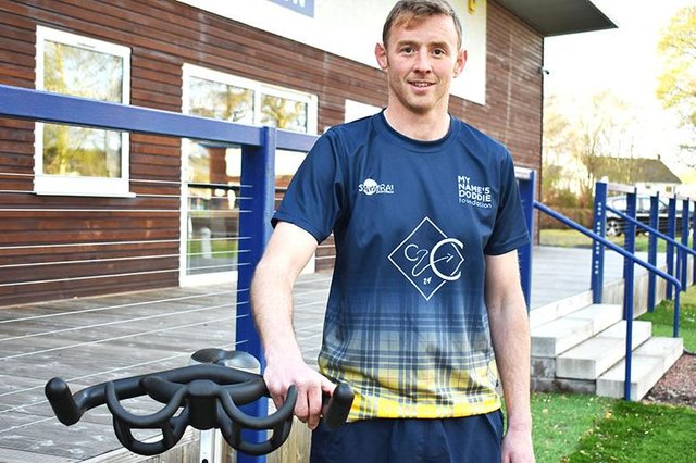 Selkirk rugby coach Scott Wight is lining up a coast-to-coast challenge in aid of the My Name'5 Doddie Foundation (Photo: John Smail)
