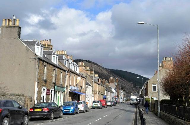 Innerleithen High Street.