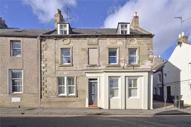 The property at 37 High Street, Coldstream, has an interesting history and some surprising features.