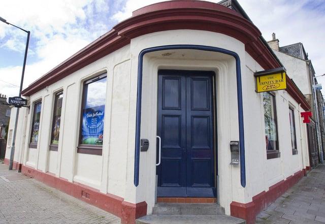 Trinity Bar, Hawick. Photo: Bill McBurnie.