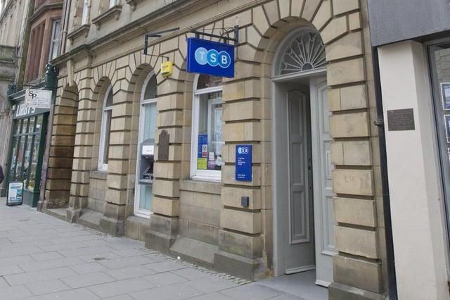 Hawick High Street's TSB branch.