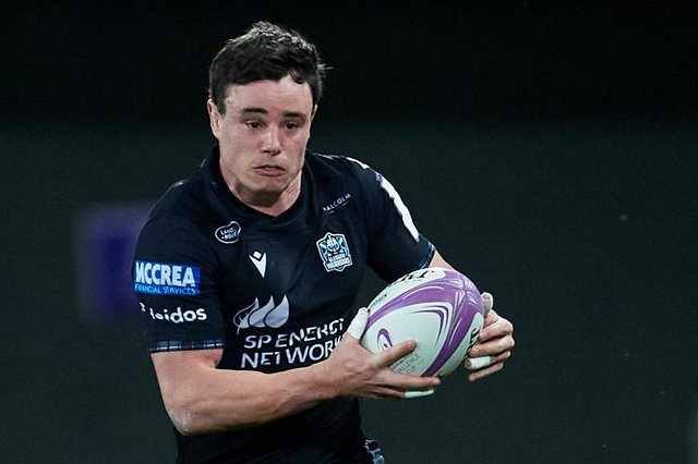 Lee Jones playing for Glasgow Warriors against Montpellier in France in April (Photo by Alex Caparros/Getty Images for EPCR)