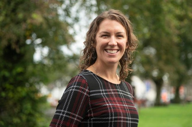 Claire Musson, learning and enterprise manager at Newcastleton and District Community Trust