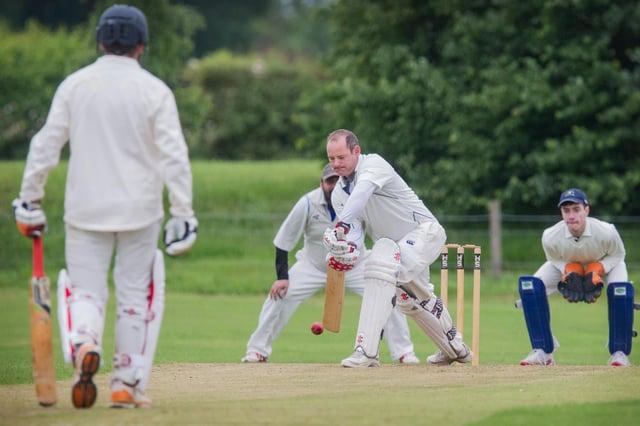 Scott Ruthven batting for St Boswells
