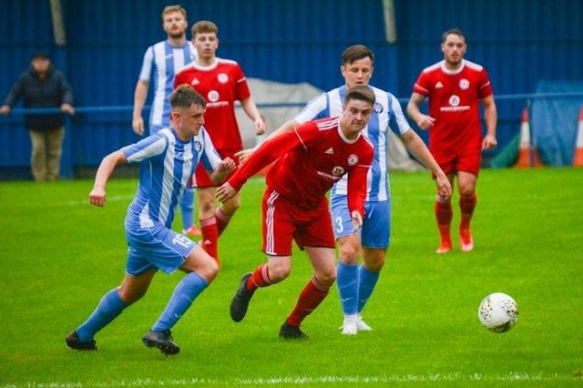 Peebles Rovers going down 9-0 to Penicuik Athletic on Tuesday (Photo: Kenny Holt)