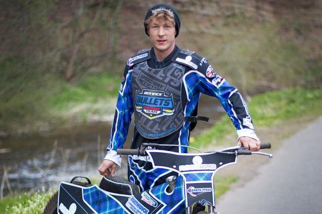 Berwick Bullets rider Greg Blair (Photo: Bill McBurnie)