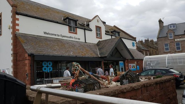 Eyemouth's Co-operative store.