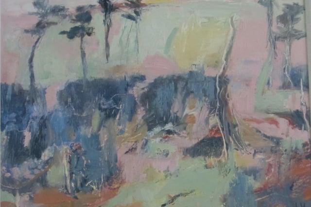 Lida Hatrick's Greenlaw Moor, estimated at £450 - £500.