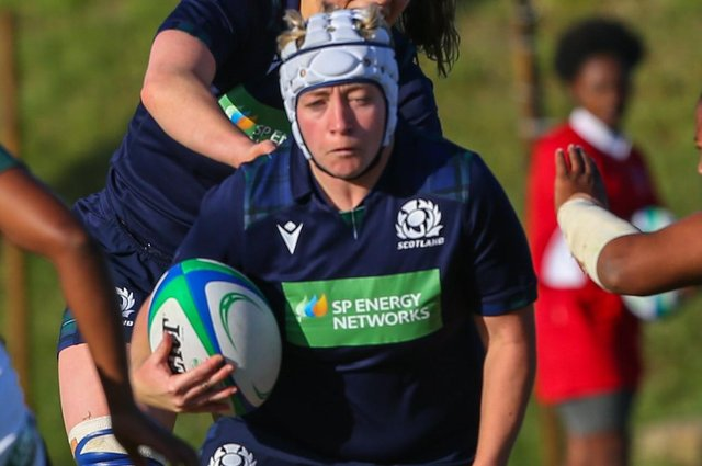 Lana Skeldon scored a try for Scotland Women last week against their Italian counterparts (library image).