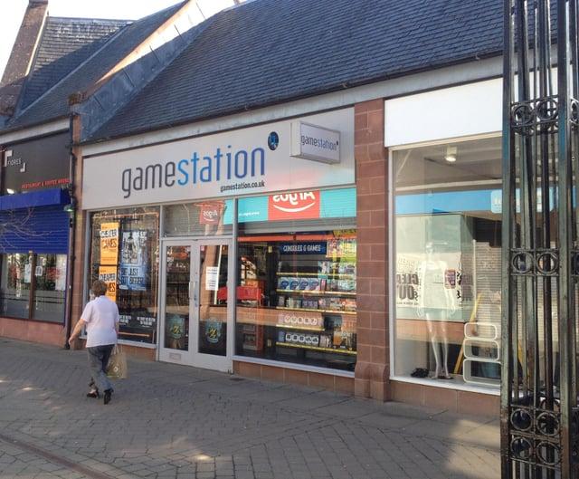 The ex-Gamestation shop.