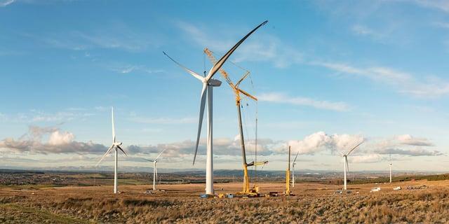 A windfarm panoramic