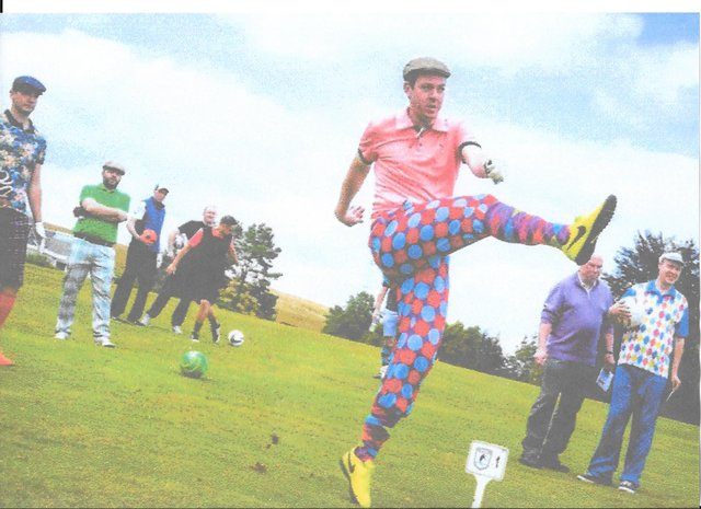 Why not head along to Duns on Sunday and enjoy some impressive feets of sporting skill?