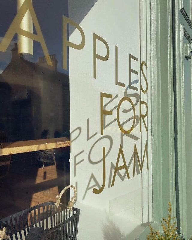 Apples for Jam.