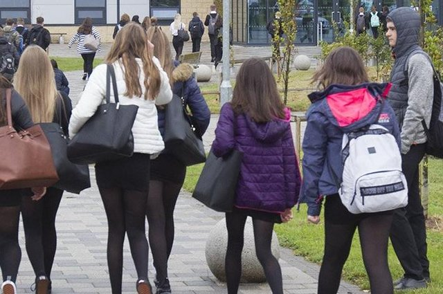 As pupils prepare to return to school on April 19, a report on education by Audit Scotland shows the attainment gap is widening in the Borders. Photo: Bill McBurnie.