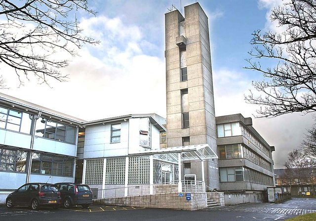 Scottish Borders Council headquarters