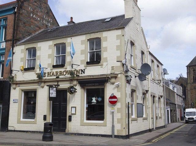 Harrow Inn in Galashiels. (Photo:BILL McBURNIE)