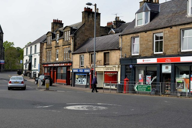 Going Native butchers in the Sandbed, Hawick.