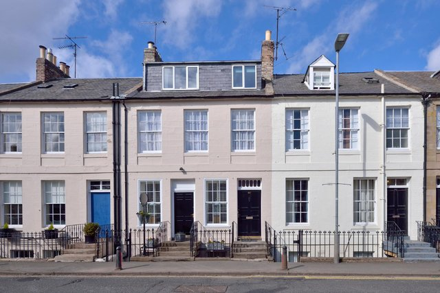 65 High Street, Coldstream, was built for the Earl of Haddington in the early 1800s.