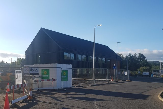 The building will soon be handed over to the council.