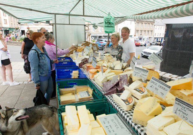 The market has been hailed a great success. (Photo: BILL McBURNIE)