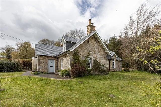 The converted schoolhouse in Glendouglas.