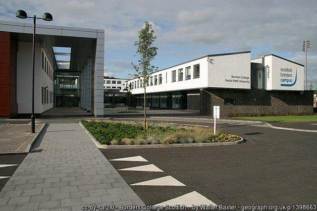 Borders College campus in Netherdale, Galashiels.