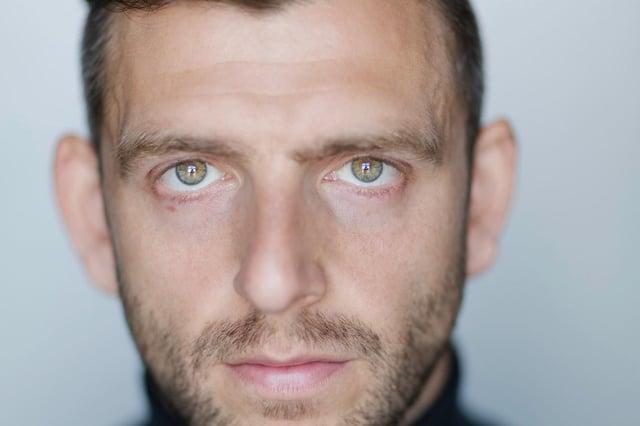 Edinburgh actor Nicholas Karimi
