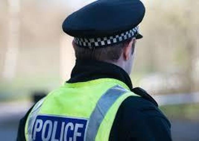 Police recruitment drive.