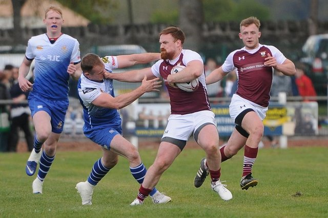 Gala playing Jed-Forest at 2019's Selkirk sevens (Photo: Grant Kinghorn)