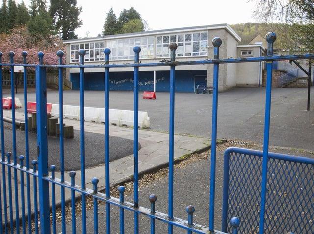St Peter's Primary School in Galashiels. Photo: Bill McBurnie.