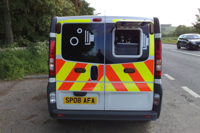 A speed camera van is being deployed on the A708 at Cappercleuch during July.