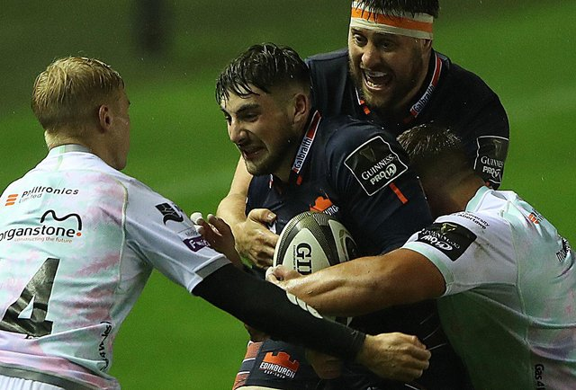 Scrum half Charlie Shiel is one of 7 uncapped players named in the squad for this summer's matches (Pic: Ian MacNicol/Getty)